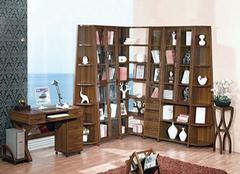 国内最新定制书柜效果图欣赏