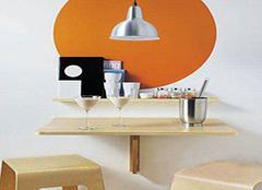 折叠式餐桌 小户型的神器