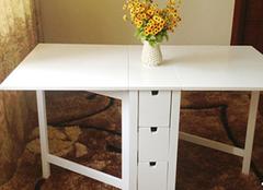 折叠式餐桌怎么样?折叠式餐桌的优点介绍