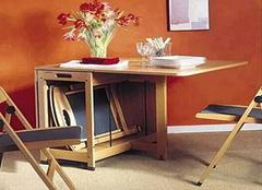 折叠式餐桌选购技巧