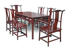 红木餐桌选购技巧 红木餐桌保养方法