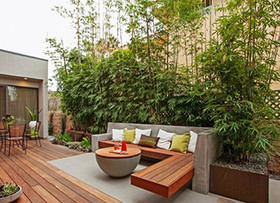 阳台花园设计图 阳台花园施工要点