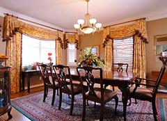 别墅窗帘怎么设计?不同风格别墅窗帘设计