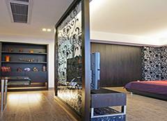 玻璃隔断门怎么设计 厨房与餐厅之间怎么装修
