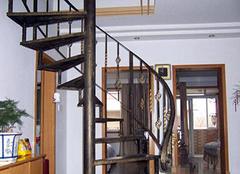 旋转楼梯尺寸多大合适?旋转楼梯效果图