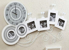 创意挂钟 客厅创意挂钟效果图