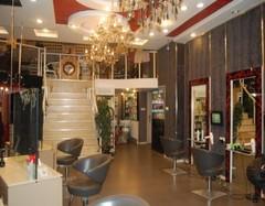 发廊装装修设计细节 潮流美发店装修效果图赏析