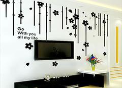 立体墙贴怎么贴 立体墙贴效果图