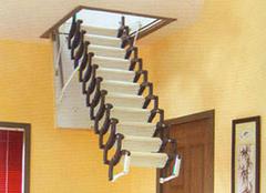 阁楼伸缩楼梯选购 阁楼伸缩楼梯尺寸价格