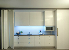 厨房折叠门选购技巧 厨房折叠门清洁方法