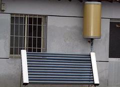 阳台壁挂太阳能优缺点及安装注意事项