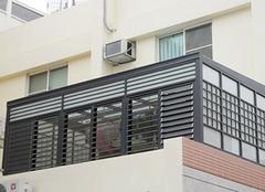 锌钢百叶窗安装注意事项及特点详解