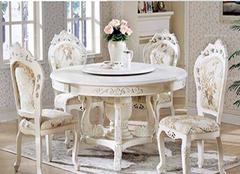 实木圆餐桌的图片解析 实木圆餐桌的价格介绍