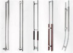 不锈钢玻璃门拉手的加工方法 不锈钢玻璃门拉手的表面处理工艺