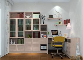 田园书房家具特征 田园书房家具种类