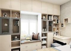 飘窗书柜设计技巧 飘窗书柜效果图