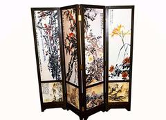 古典屏风的作用 古典屏风保养清洁