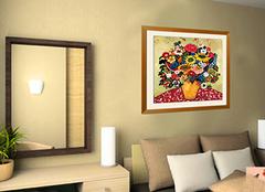 室内墙体手绘装饰画效果图赏析