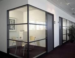 办公室隔断装修注意事项及材料选购