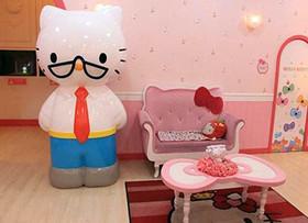 hello kitty主题餐厅设计效果图欣赏