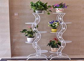 木制花架工艺介绍 给绿植安个家