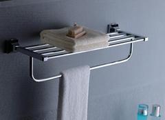 卫浴挂件这样安装更整洁有条理