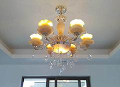 水晶灯的优点及保养方法介绍