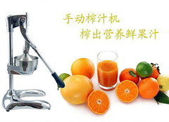 手动水果榨汁机让孩子喝出幸福感