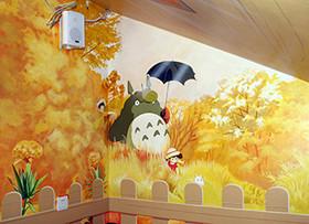 墙面彩绘为你点亮家居生活之美