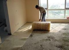 木地板防潮垫种类及铺设注意事项