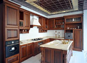 欧式厨房装修效果图案例解析