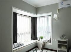 飘窗窗帘装饰效果 让你家居漂亮一百倍