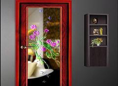 艺术玻璃门六大选购技巧 让家居美上一层次