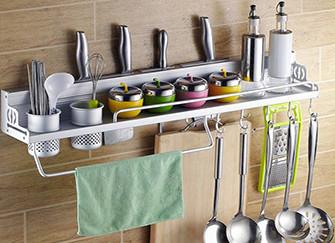 厨房置物架安装位置及特点介绍