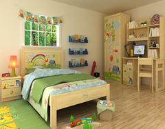 儿童卧室设计四大注意事项要牢记