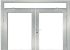 防火玻璃门规范标准及材质介绍