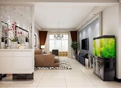 别致的客厅隔断墙设计 给家增添一份生机