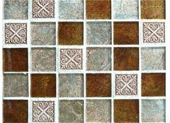 疯狂的马赛克 马赛克瓷砖铺贴讲解