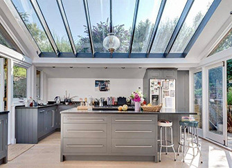 玻璃房顶设计三大要点 家更显温馨浪漫