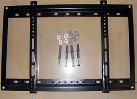 电视壁挂架安装有门道 100%省时又省心