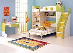 双层儿童床的优点有哪些 木匠师傅告诉你