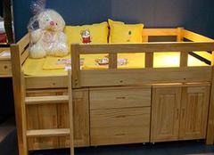 喜梦宝松木儿童床安装方法及注意事项 实用棒棒哒!