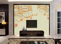 背景墙你喜欢用壁画还是壁纸呢!