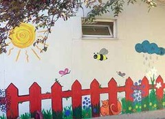 幼儿园装饰画 让孩子感受家的温暖