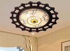 不同居室吸顶灯尺寸 让居住更舒适
