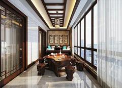 中式餐厅吊顶 一款极具设计感的吊顶