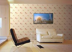 客厅贴墙纸好吗 教你打造完美客厅