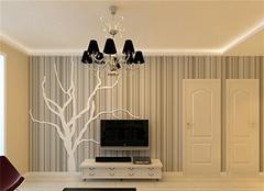 客厅墙纸挑选三大误区 不要看错了