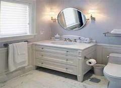 巧选巧搭浴室柜 让它实用装饰两不误