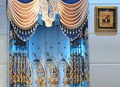 欧式窗帘颜色用的巧 为家居锦上来添花